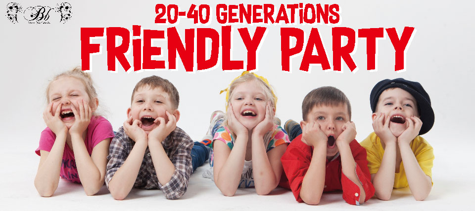 20-40 GENERATION FRIENDLY PARTY